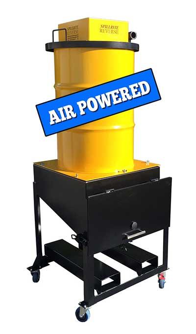 Drum-Hopper-air-powered