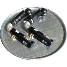 Drum pump pneumatic twin kit 100 cfm