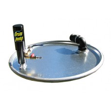 Air powered Drum pump 40 cfm vac only-spills,heavy fluid