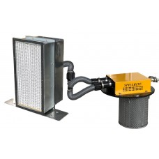 HEPA filter pneumatic power head combo