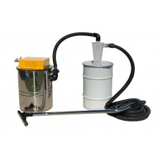 Dust vac with cyclone & 60 litre waste tank-100 cfm